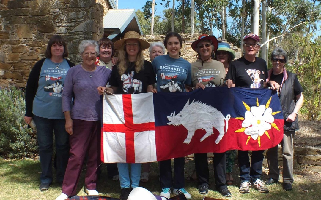 Battle of Bosworth winery picnic march 2015 our branch members
