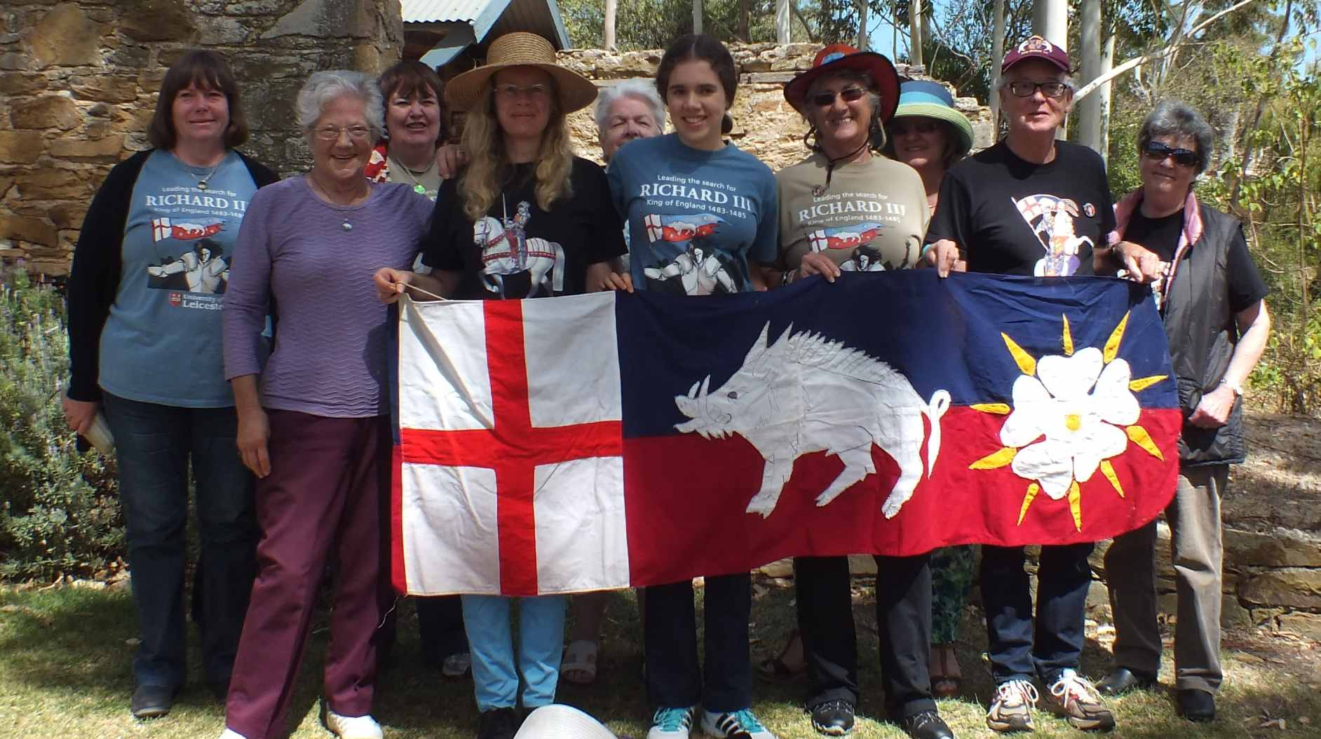 Battle of Bosworth winery picnic march 2015 the branch