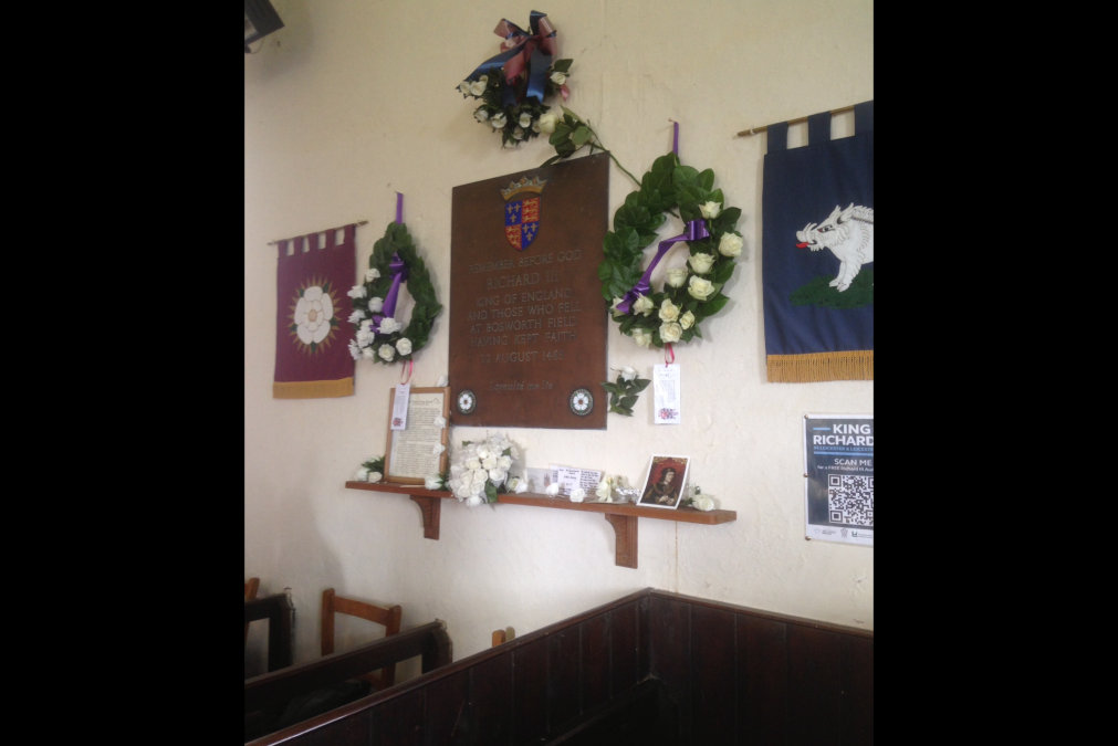 Wreath to Commemorate Battle of Bosworth